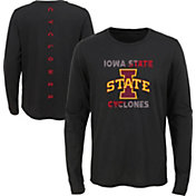 Outerstuff Youth Iowa State Cyclones Ultra Long Sleeve Black T-Shirt