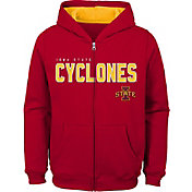 Outerstuff Youth Iowa State Cyclones Cardinal Full-Zip Fleece Hoodie