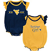 Outerstuff Infant West Virginia Mountaineers Blue/Gold Homecoming 2-Piece Onesie Set