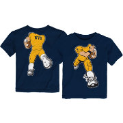 Gen2 Toddler West Virginia Mountaineers Blue Football Dreams T-Shirt