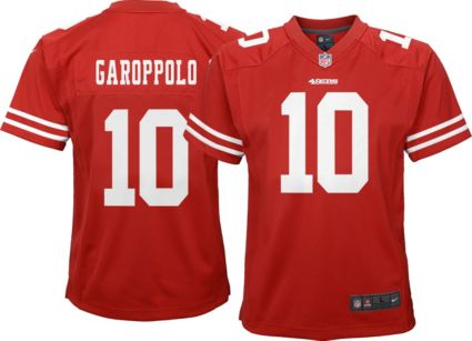 Nike Youth Home Game Jersey San Francisco 49ers Jimmy Garoppolo  10 ... 5b6b2c7f95