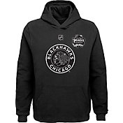 NHL Youth 2019 Winter Classic Chicago Blackhawks Logo Black Hoodie