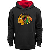 NHL Youth Chicago Blackhawks Prime Black Hoodie