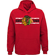 NHL Youth Chicago Blackhawks Honor Lines Red Hoodie