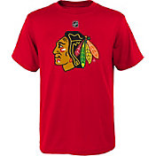 NHL Youth Chicago Blackhawks Primary Logo Red T-Shirt