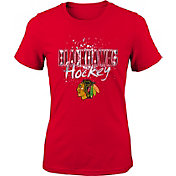 NHL Youth Chicago Blackhawks Colossal Red T-Shirt