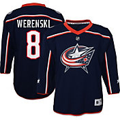 NHL Youth Columbus Blue Jackets Zach Werenski #8 Replica Home Jersey