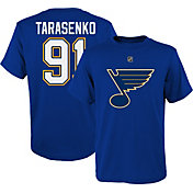 NHL Youth St. Louis Blues Vladimir Tarasenko #91 Royal Player T-Shirt