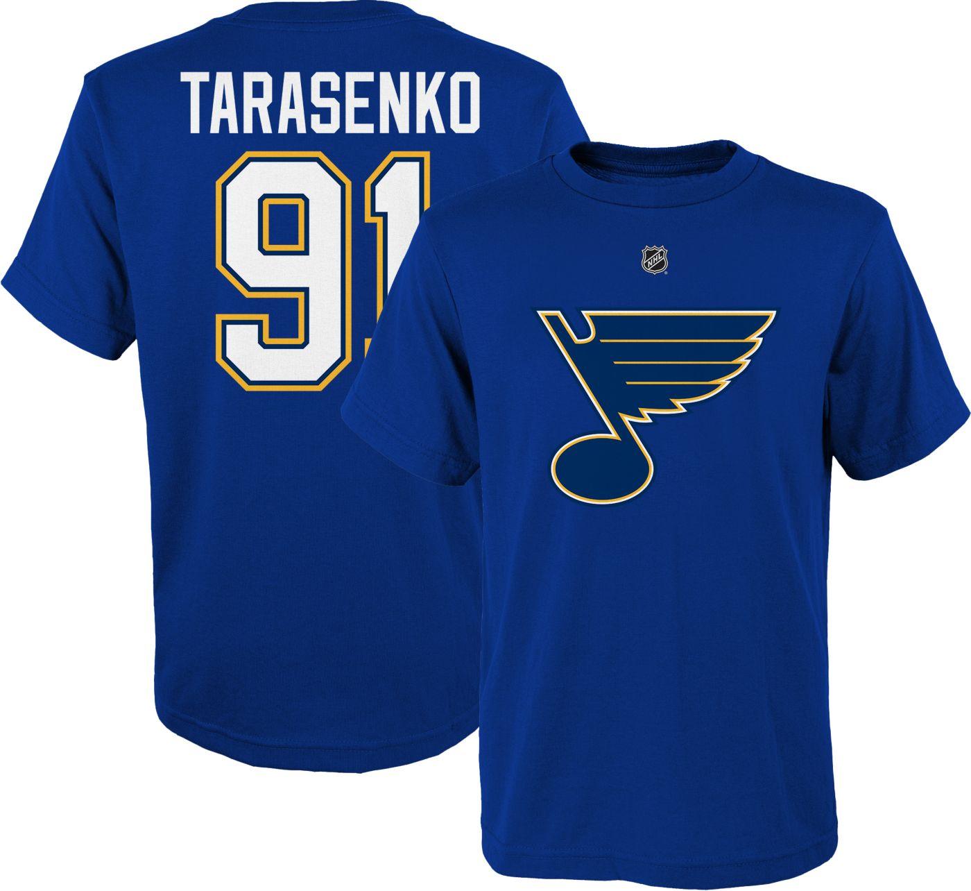 NHL Youth St. Louis Blues Vladimir Tarasenko #91 Royal Player T-Shirt