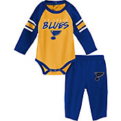 NHL Infant St. Louis Blues Onesie and Pant Set