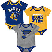 NHL Infant St. Louis Blues Onesie Set