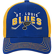 NHL Youth St. Louis Blues Basic Strucutred Blue Adjustable Hat