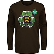NHL Youth 2019 Winter Classic Boston Bruins Under Ice Brown Long Sleeve Shirt
