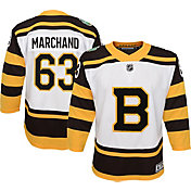 NHL Youth 2019 Winter Classic Boston Bruins Brad Marchand #63 Premier Home Jersey