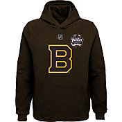NHL Youth 2019 Winter Classic Boston Bruins Logo Brown Hoodie