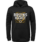 NHL Youth Boston Bruins Attitude Black Pullover Hoodie