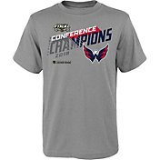 NHL Youth 2018 NHL Eastern Conference Champions Washington Capitals Locker Room T-Shirt