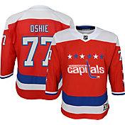 NHL Youth Washington Capitals T.J. Oshie #77 Premier Home Jersey