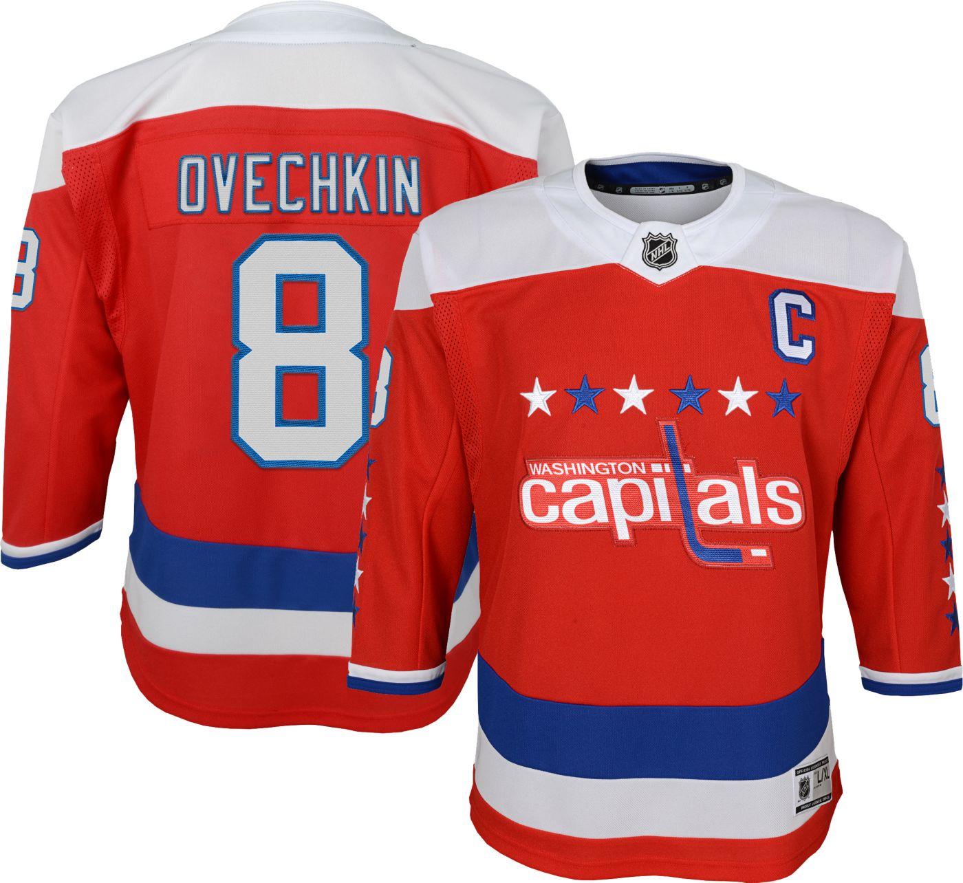 NHL Youth Washington Capitals Alex Ovechkin #8 Premier Home Jersey