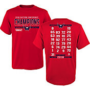 NHL Youth 2018 NHL Eastern Conference Champions Washington Capitals Roster T-Shirt