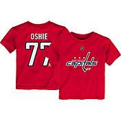 NHL Youth Washington Capitals T.J. Oshie #77 Red Player T-Shirt