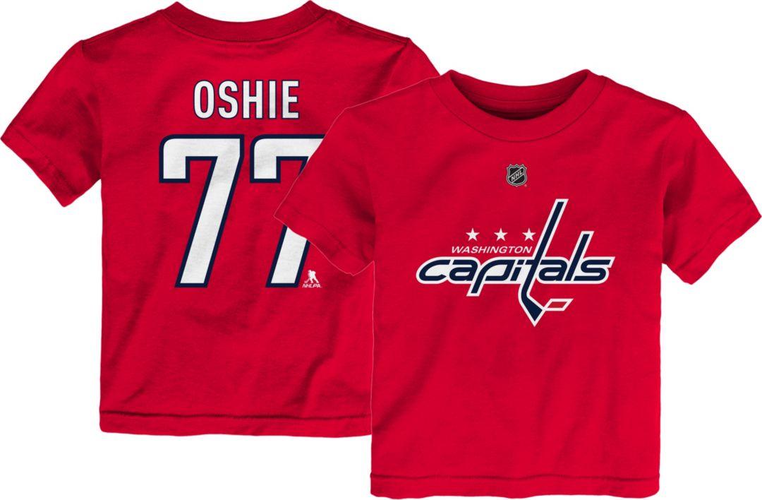 huge discount c7eb2 aafc5 NHL Youth Washington Capitals T.J. Oshie #77 Red Player T-Shirt