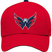 NHL Youth Washington Capitals Basic Structured Red Adjustable Hat