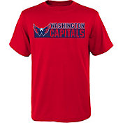 NHL Youth Washington Capitals Home Team Red T-Shirt