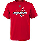 NHL Youth Washington Capitals Primary Logo Red T-Shirt