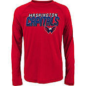 NHL Youth Washington Capitals Rink Bound Red Long Sleeve Shirt