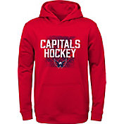 NHL Youth Washington Capitals Attitude Red Pullover Hoodie