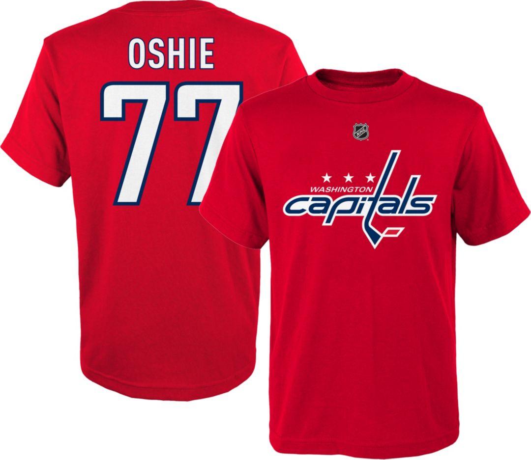 new arrivals bb7f7 cafb0 NHL Youth Washington Capitals T.J. Oshie #77 Red T-Shirt