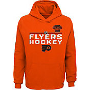 NHL Youth 2019 Stadium Series Philadelphia Flyers Locker Room Orange Hoodie