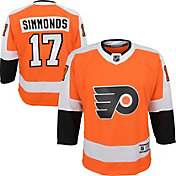 NHL Youth Philadelphia Flyers Wayne Simmonds #17 Premier Home Jersey