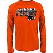 NHL Youth Philadelphia Flyers Rink Bound Orange Long Sleeve Shirt