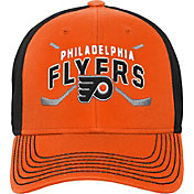 NHL Youth Philadelphia Flyers Faceoff Structured Orange Adjustable Hat