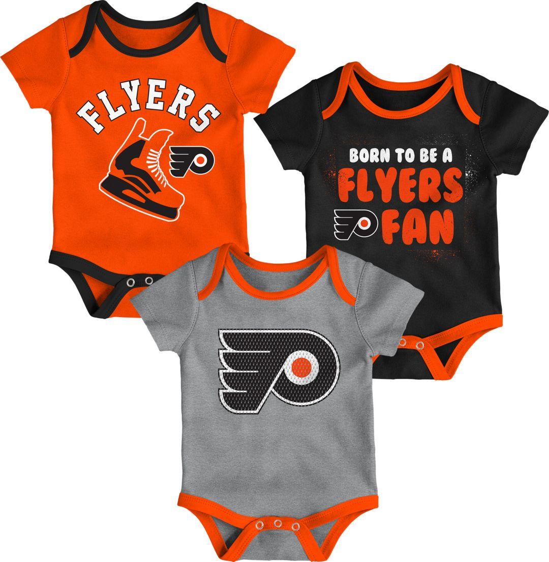 huge selection of db70a 8ad84 NHL Infant Philadelphia Flyers Onesie Set
