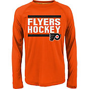 NHL Youth Philadelphia Flyers Shootout Orange Long Sleeve Shirt