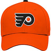 NHL Youth Philadelphia Flyers Basic Structured Orange Adjustable Hat
