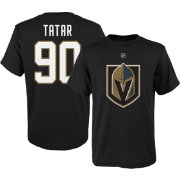 NHL Youth Vegas Golden Knights Tomas Tatar #90 Black Tee