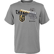 NHL Youth 2018 NHL Western Conference Champions Vegas Golden Knights Locker Room T-Shirt