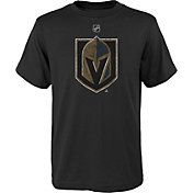 NHL Youth Vegas Golden Knights Distressed Black T-Shirt