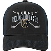 Product Image · NHL Youth Vegas Golden Knights Basic Strucutred Black  Adjustable Hat 48d442f798d