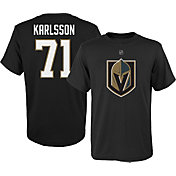 NHL Youth Vegas Golden Knights William Karlsson #71 Black Tee