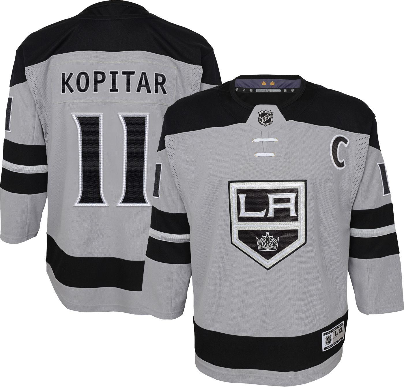 NHL Youth Los Angeles Kings Anze Kopitar #11 Premier Home Jersey