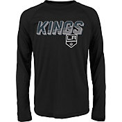 NHL Youth Los Angeles Kings Rink Bound Black Long Sleeve Shirt