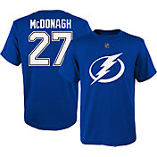 NHL Youth Tampa Bay Lightning Ryan McDonagh #27 Royal T-Shirt
