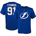 NHL Youth Tampa Bay Lightning Steven Stamkos #91 Royal Player T-Shirt