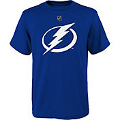 NHL Youth Tampa Bay Lightning Big Logo Royal T-Shirt