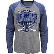 664d0cf5985 Product Image · NHL Youth Tampa Bay Lightning Home Rink Royal Raglan T-Shirt